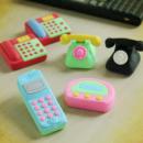 電話の進化消しゴム